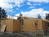 forro exterior con tableros estructurales OSB